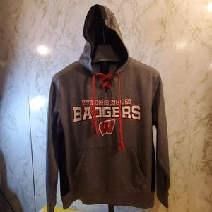 Wisconsin Badgers Polyester Hoodie
